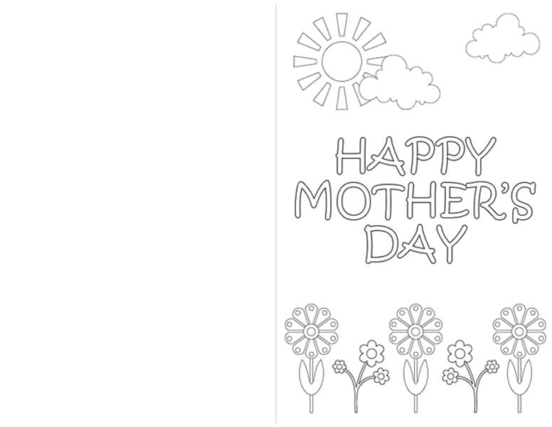 These 17 Printable Mother S Day Coloring Pages Are Perfect Heartfelt Gifts Mothers Day Cards Printable Mothers Day Card Template Mothers Day Coloring Pages