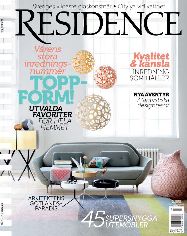 Residence magazine Styling by Annika Kampmann Foto Karl Anderson