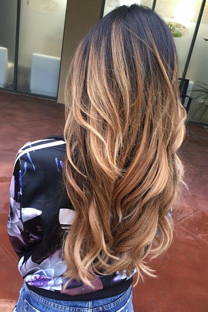 Flamboyage Hair Color 2017 B E A Utiful Pinterest