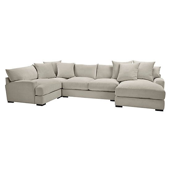 Stella Chaise Sectional 4 Pc Right Arm Facing Custom