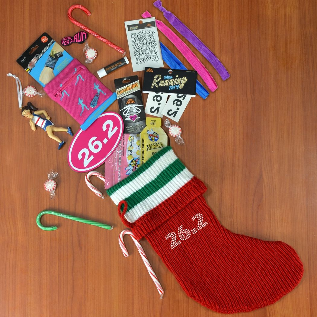 26.2 Marathon Girl Christmas Stocking
