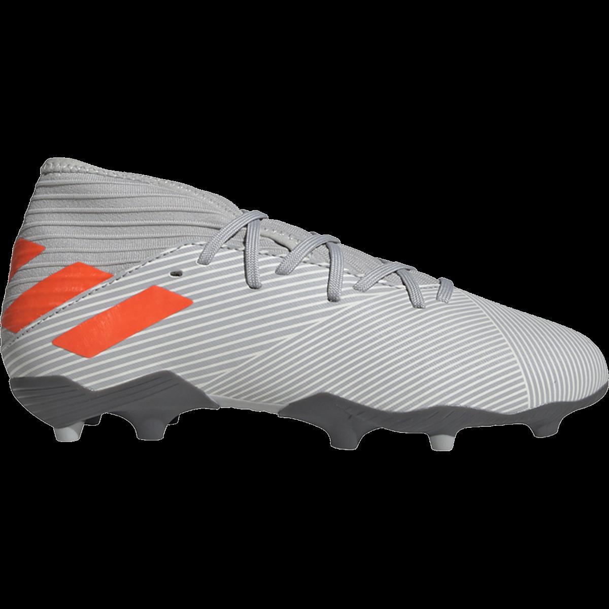 adidas Nemeziz 19.3 FG Fußballschuhe Grau / Solarorange / Kreideweiß-1.5   – Products