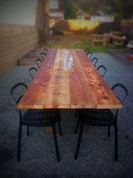 Old Barn Wood Table.