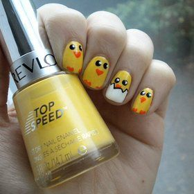 Cute easter nails- just for fun!