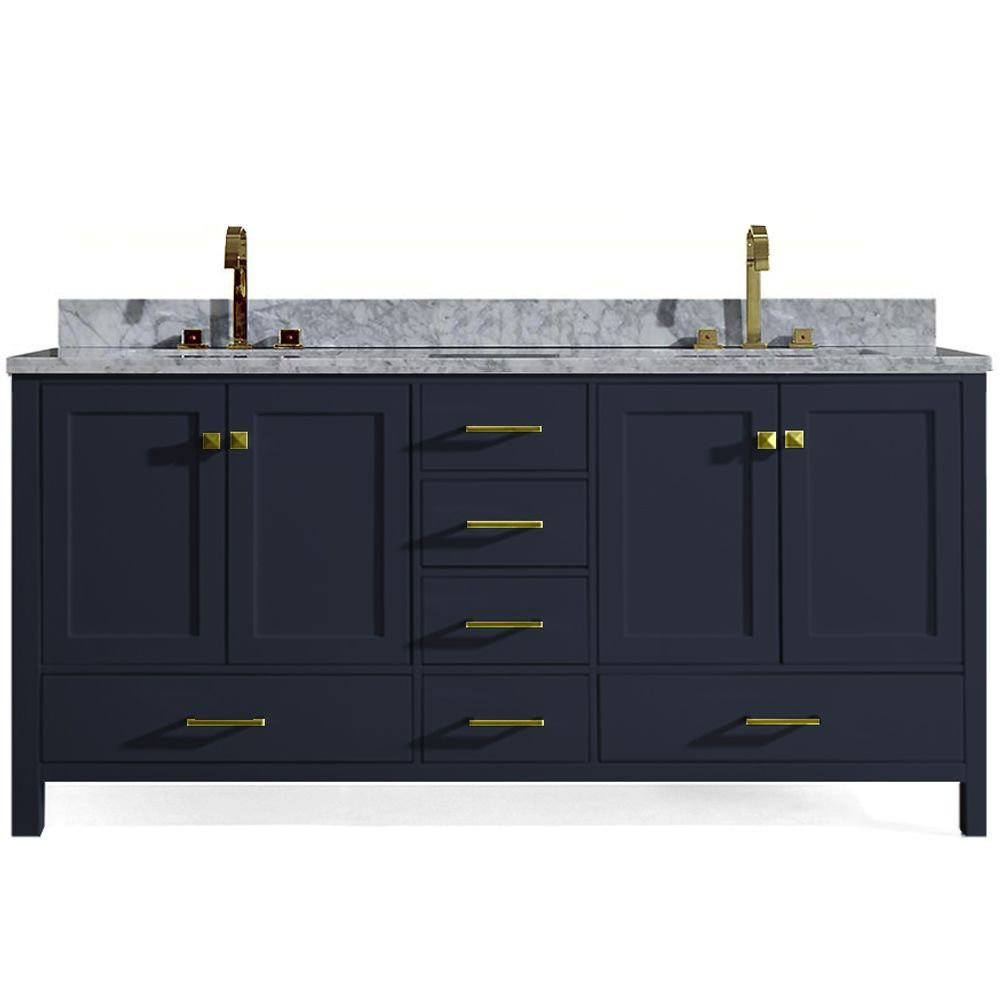 Pin By Kristen Kuzma With Berkshire H On For The Home In 2020 Double Sink Bathroom Vanity Bathroom Sink Vanity Double Sink Bathroom
