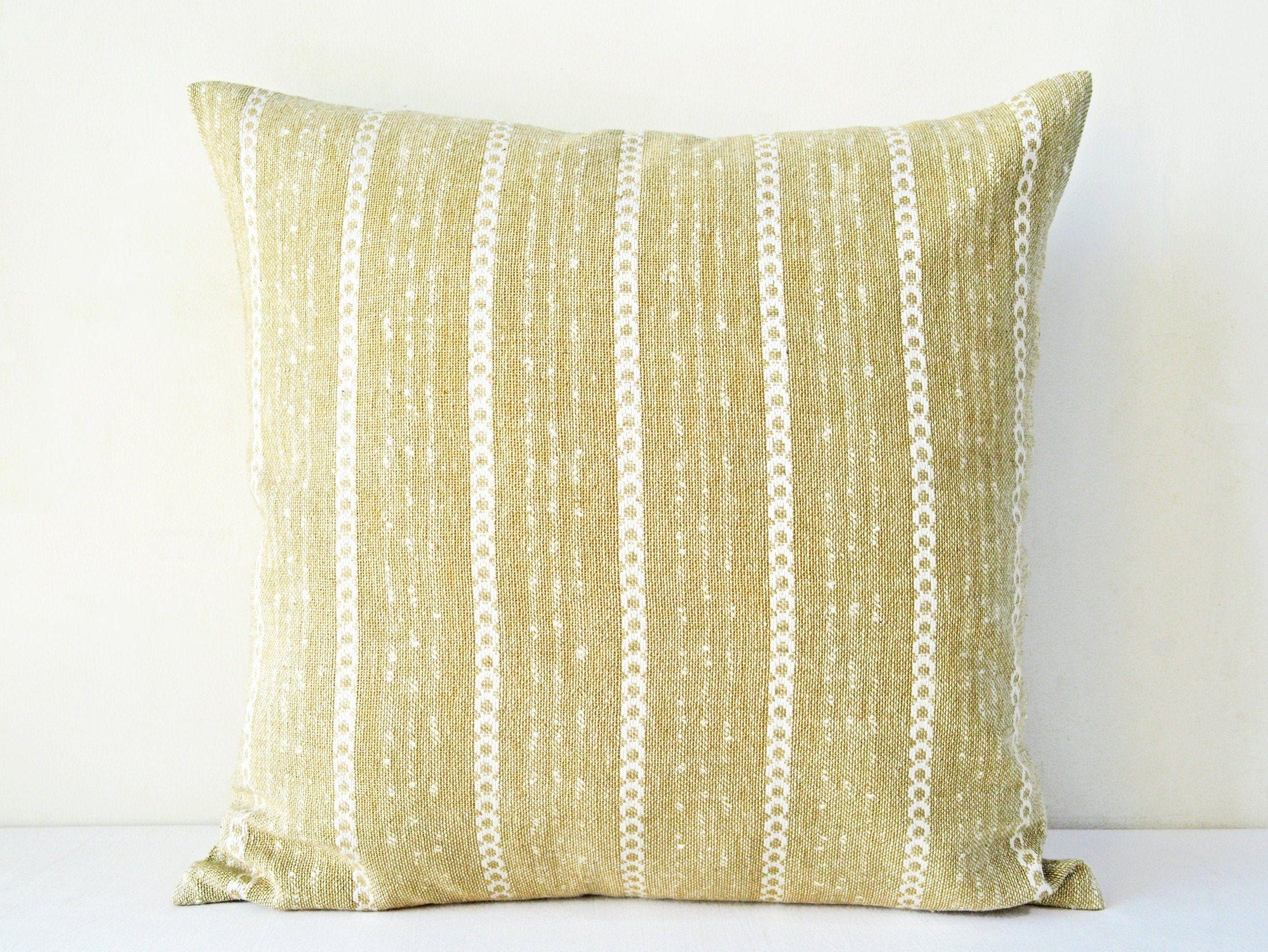 Beige pillow cover 16x16burlap pillow cover 20x20