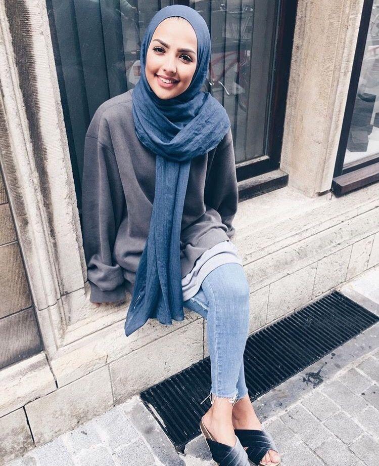 Bati Basortulu Kadin Giyim Basortulu Bayanlar Giyim Modelleri Tesettur Giyim Tarzi Pantolon Tunik Basortusu Giyimi Fashion Hijabi Outfits Casual Hijab Fashion