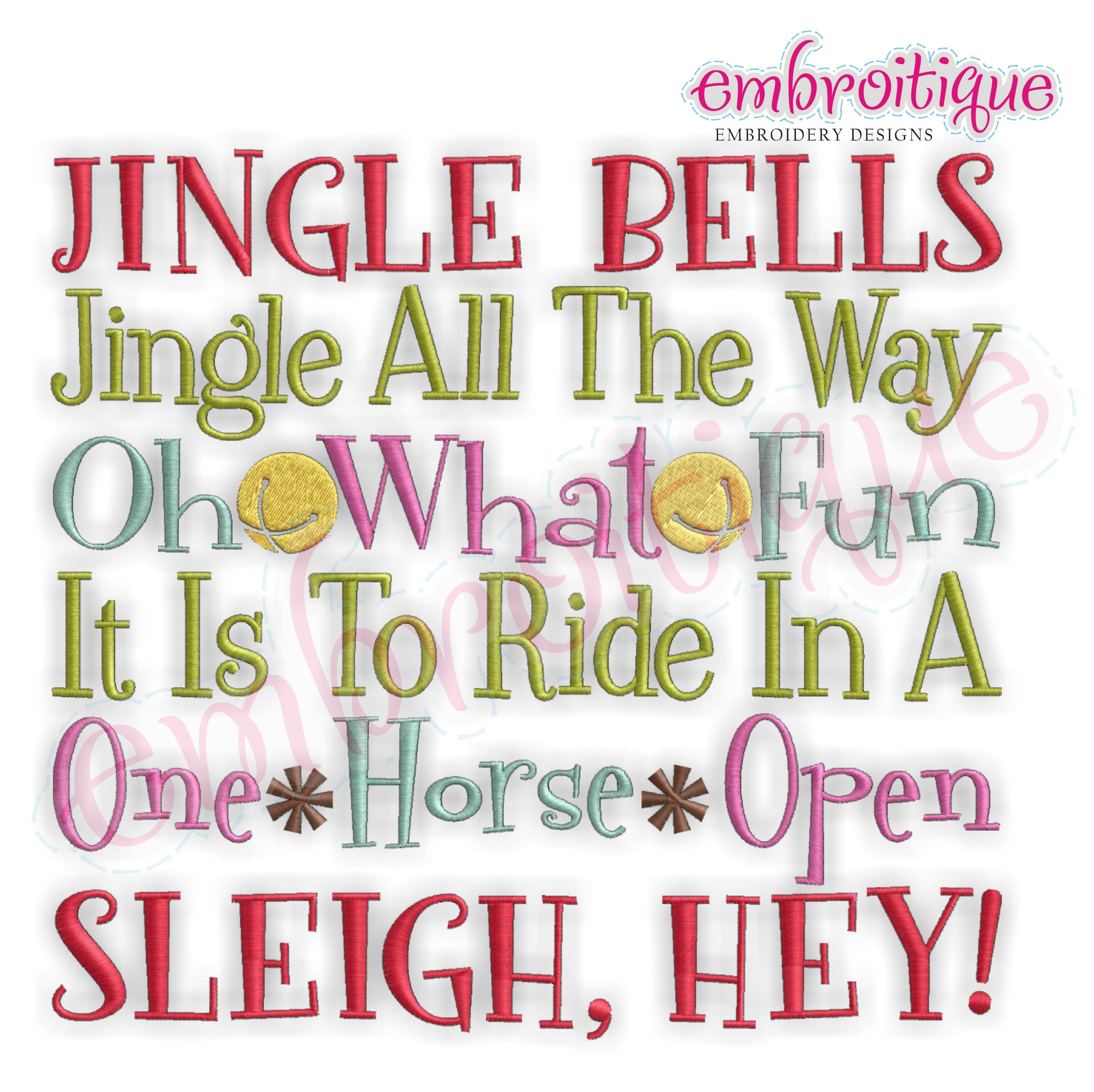 Home By Year Created 2012 Oct Dec Jingle Bells Jingle All The Way Oh What Fun It Is To Ride On A One Horse Open