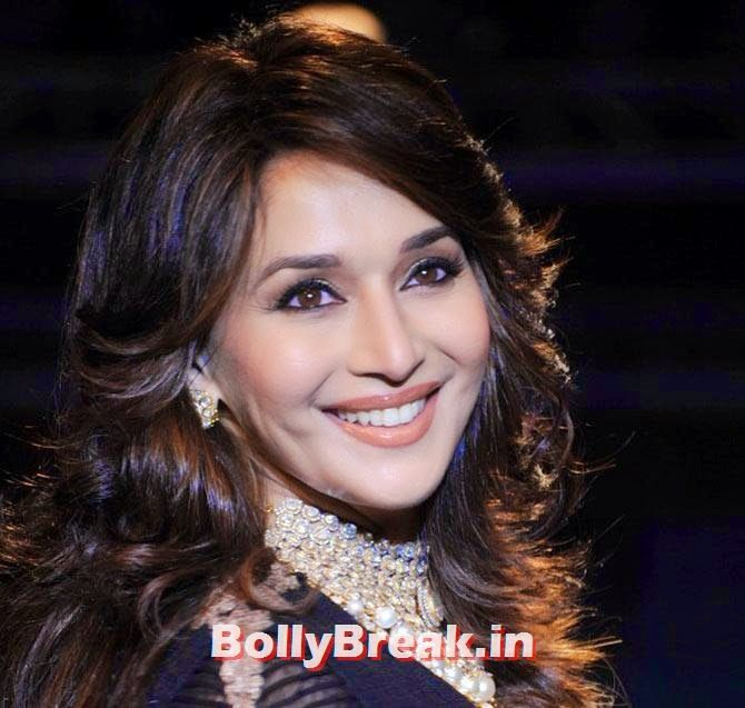 Madhuri Dixit Bollywood Eye Makeup Pictures Of Actresses Eyes