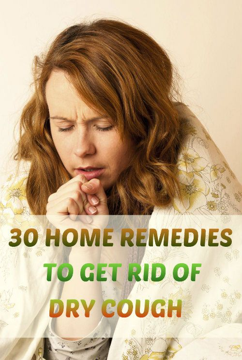 how to get rid of persistent cough at night