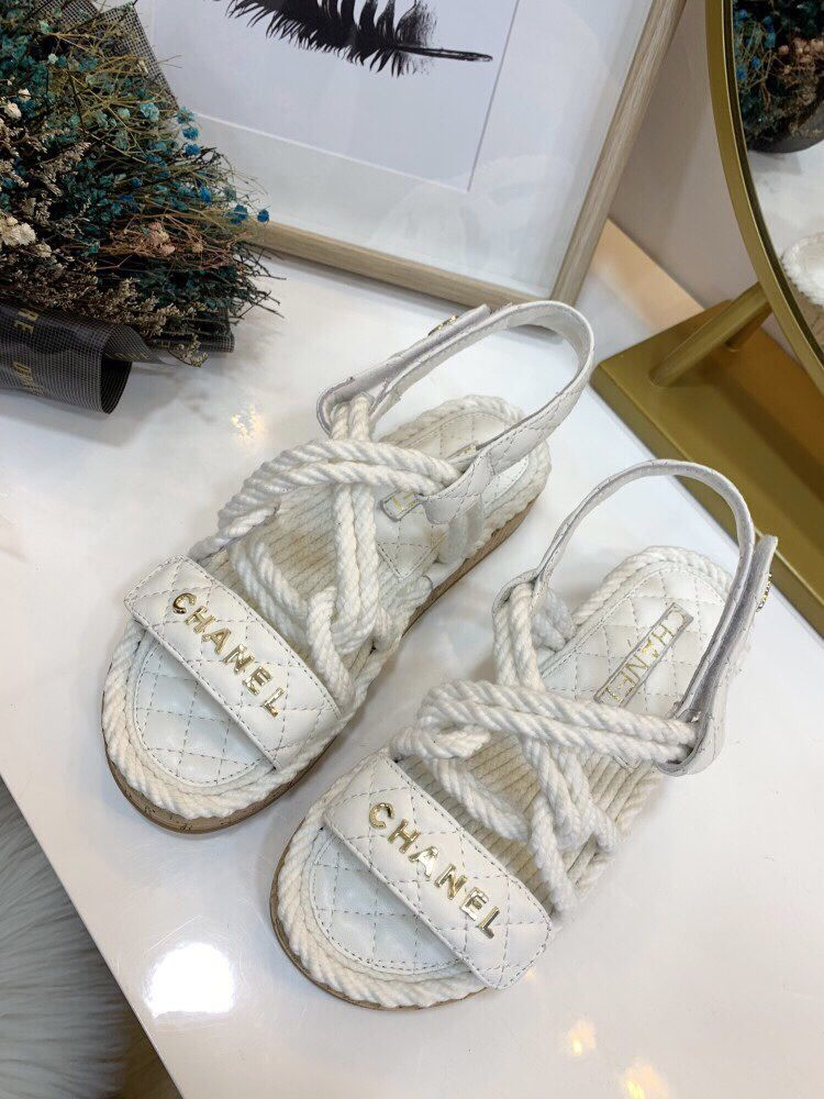 Chanel sandals, Chanel shoes