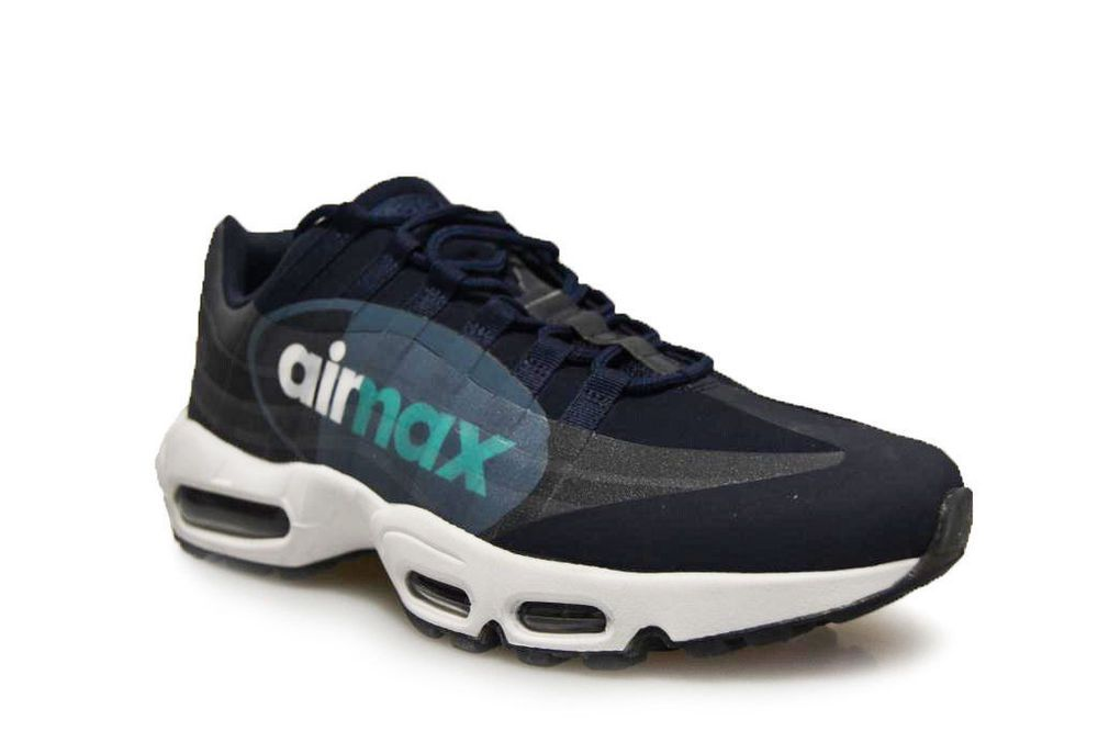 timeless design 007ee 50fa5 Nike Air Max 95 NS GPX SP Mens Casual Shoes ObsidianWhiteSlate AJ7183
