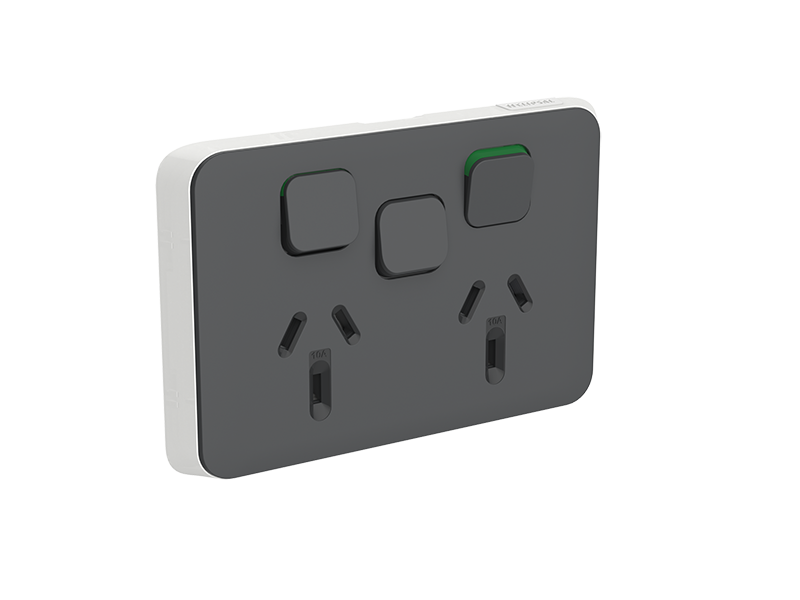 Clipsal 3025xc An Clipsal Iconic Socket Outlet Cover