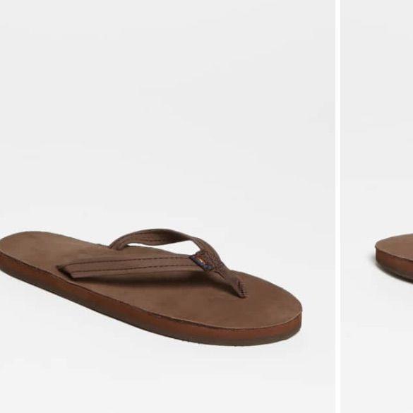 Rainbow Shoes | Rainbow Sandals | Color: TanWhite | Size