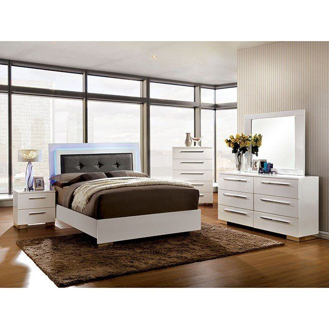 Furniture Of America Clementine 4 Piece Bedroom Set ...