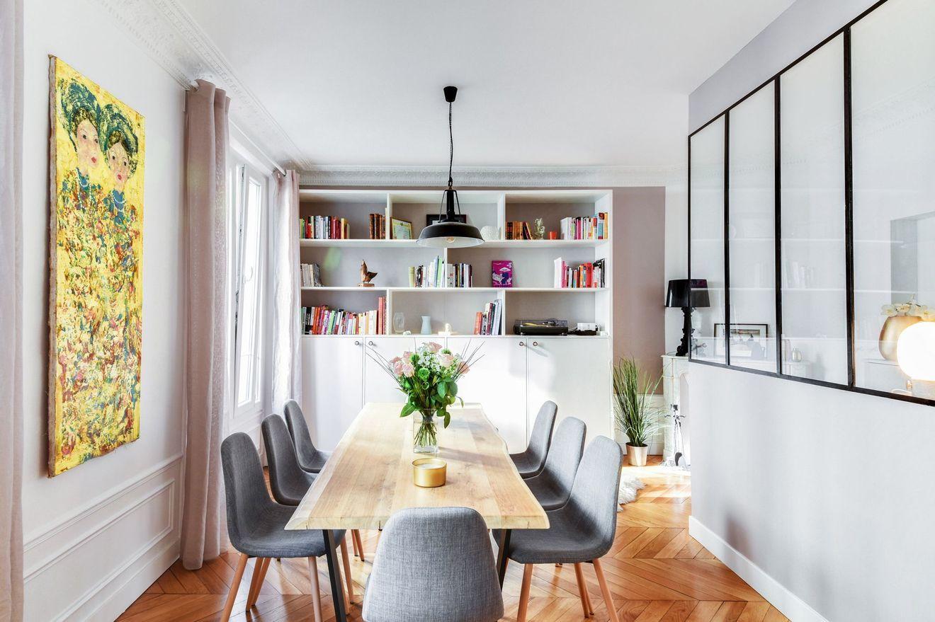 Renovation Appartement Haussmannien Avant Apres