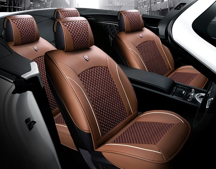 Good Quality Free Shipping Full Set Car Seat Covers For New Land Rover Range Rover Sport 2016 2014 Breathable Ca Car Seats Carseat Cover Leather Seat Covers