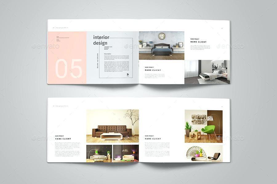 Interior Designers Portfolios Graphic Design Portfolio Template