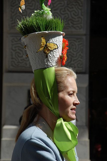 Easter On 5th Ave Nyc Style Easter Hats Easter Bonnet Easter Hat Parade