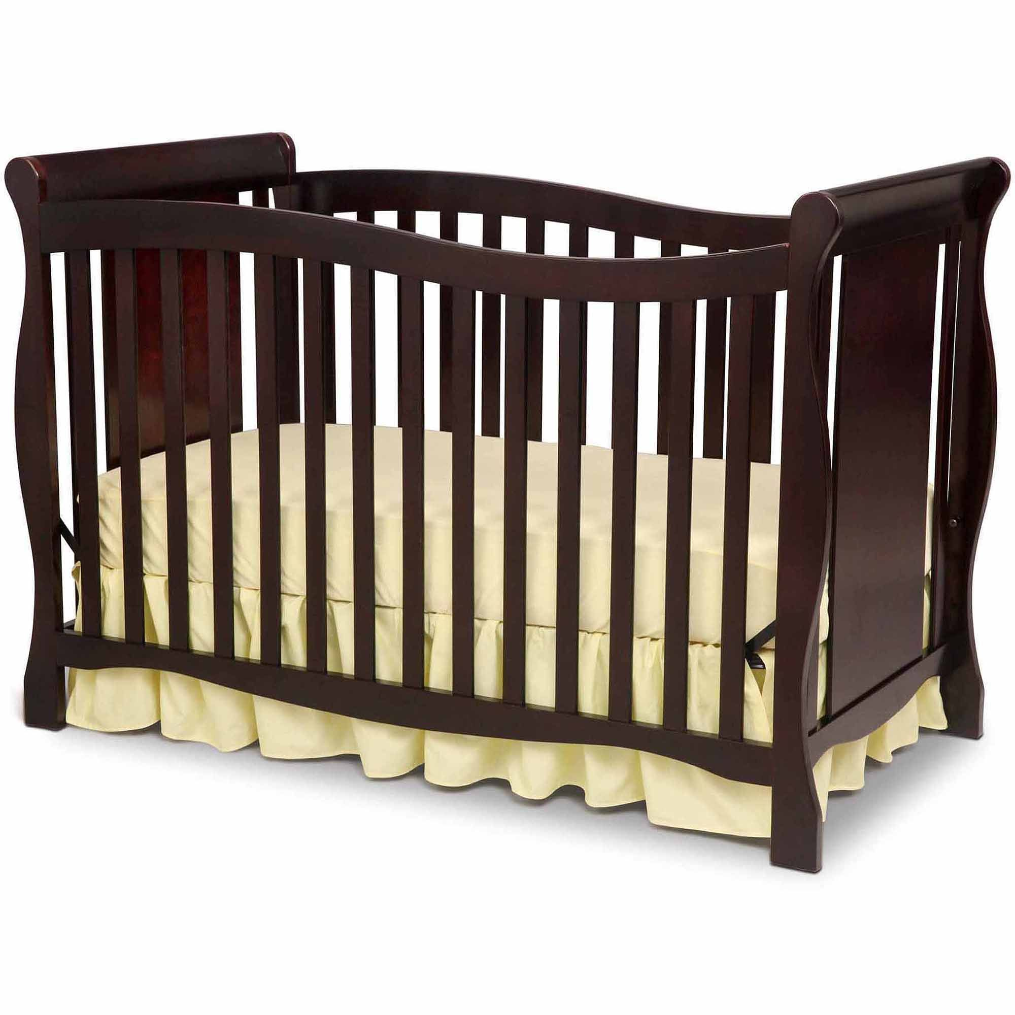 Delta Children S Products Brookside 4 In 1 Fixed Side Crib Choose Your Finish Price Delta Children Cribs Convertible Crib