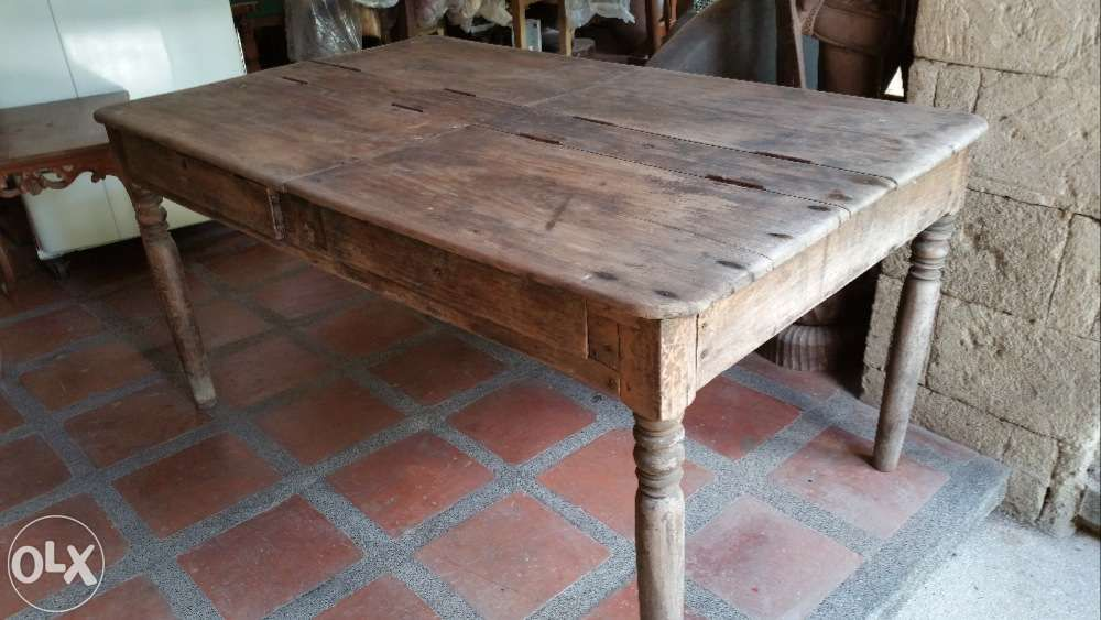 Antique Dining Table With Storage For Philippines Find
