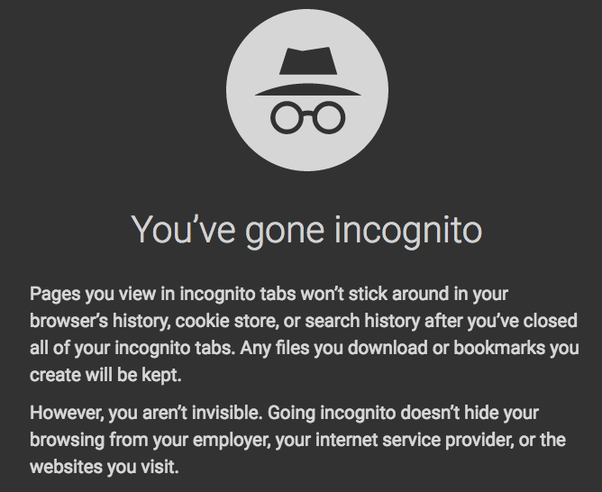 8 Awesome Reasons To Go Incognito In Google Chrome Incognito Storing Cookies Google Chrome