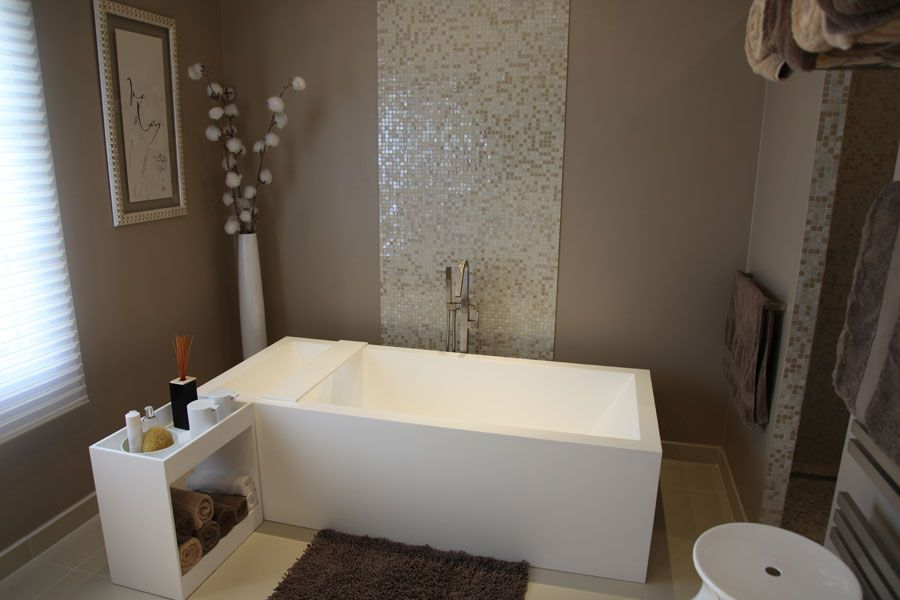 Salle de bains zen Salle de bain Pinterest Bath room, Bath and