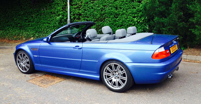 Bmw E36 M3 Estoril Blue Convertible
