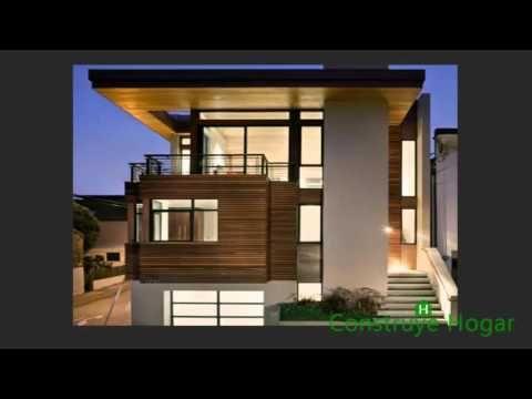 Fachadas de casas modernas todo para dise ar una hermosa - Disenar mi casa ...
