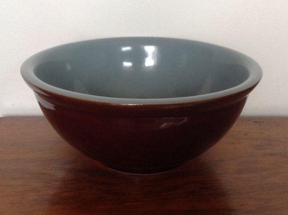 Blue Prestige Vintage 2 Piece Mixing Bowl Set