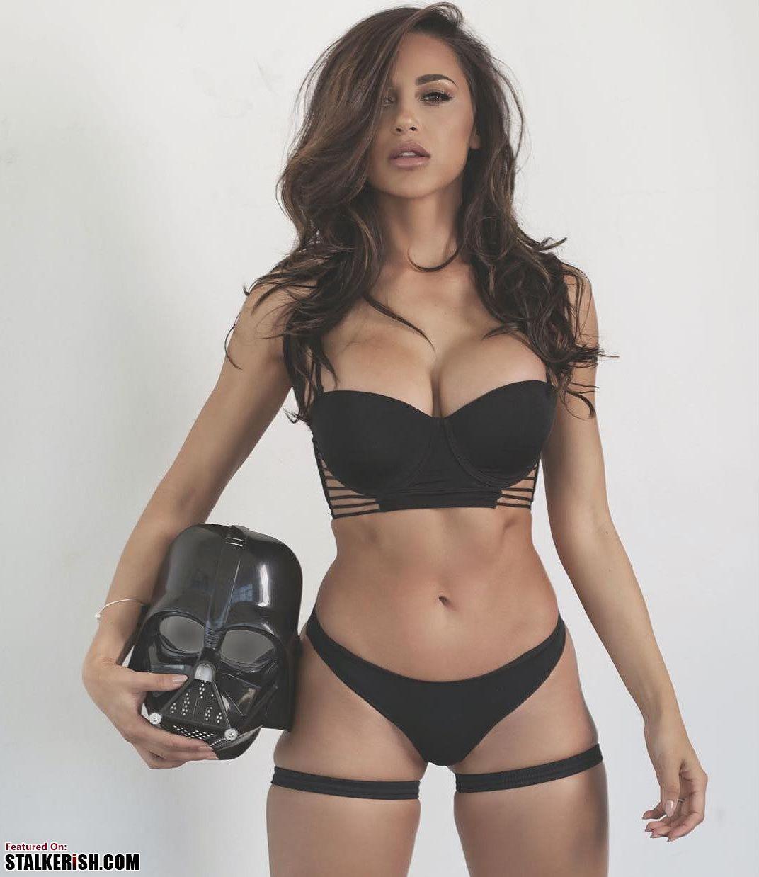 Ana Carolina Playboy ana cheri star wars - #anacheri #darthvader #playboy