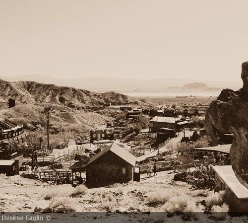 Calico Ghost Town, Ghost Towns