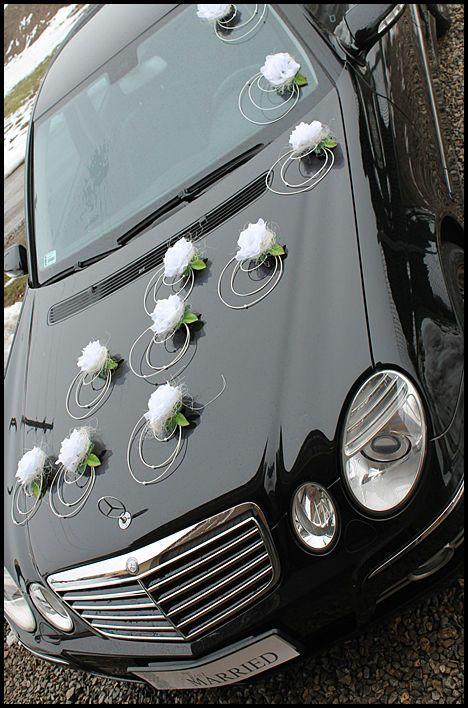Ozdoba Dekoracja Na Samochod Stroik Slub 2 60zl 4637605847 Oficjalne Archiwum Allegro