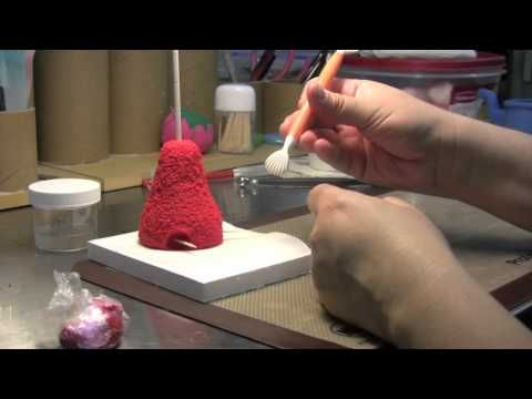 How To Make An Elmo Cake Topper The Krazy Kool Cakes Way PART TWO