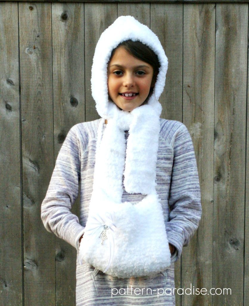Free crochet pattern fluffy hat and hand muff crochet free crochet pattern fluffy hat and hand muff set by pattern paradise bankloansurffo Image collections