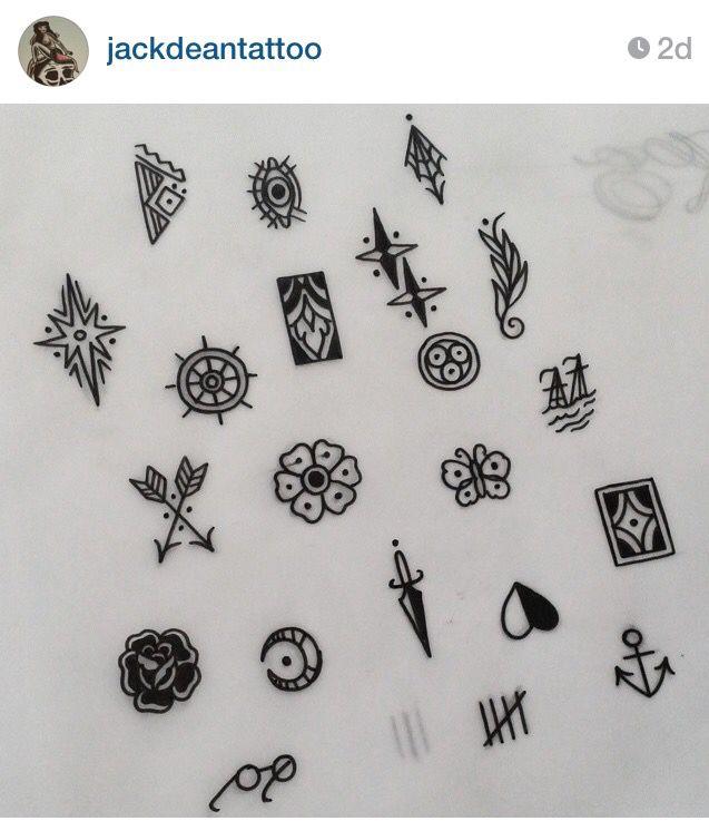 Tattoo Flash For Finger Tattoos Metallic Tattoos Pinterest