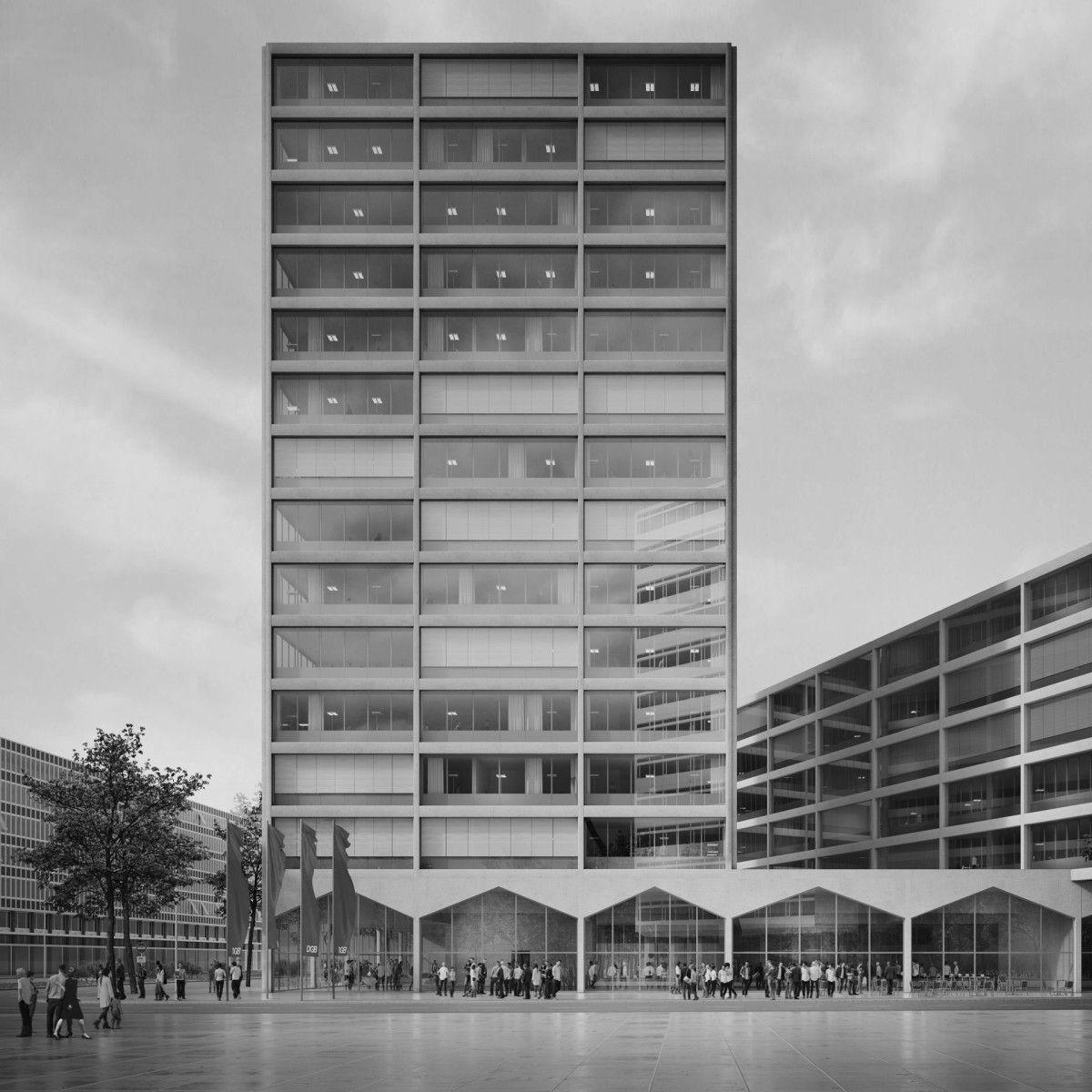 E2a Dgb Bundesvorstand Berlin 1 Hochhaus Highrise