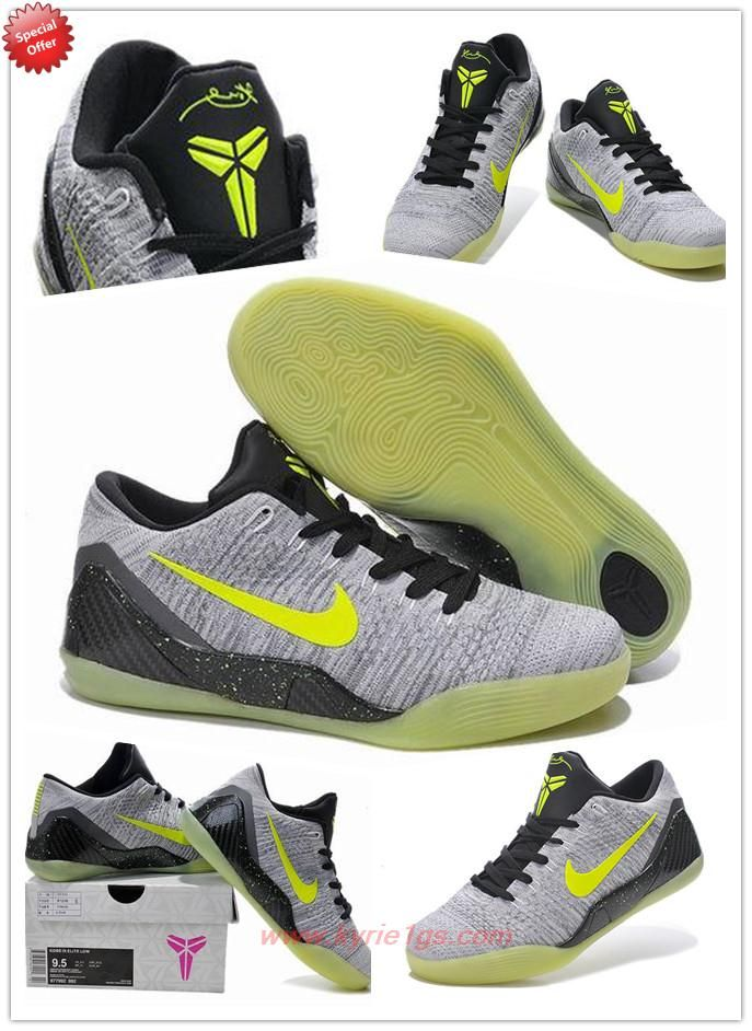 Gray 677992-992 Nike Kobe 9 IX Elite Low Mens For Wholesale BM2HNS ... 261f84f0c3