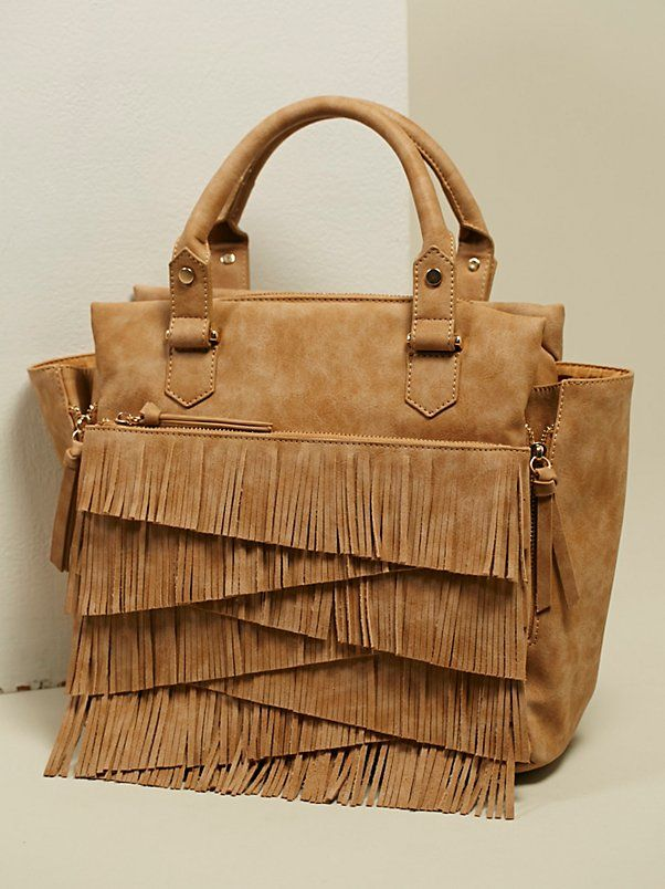 Amber Vegan Leather Satchel