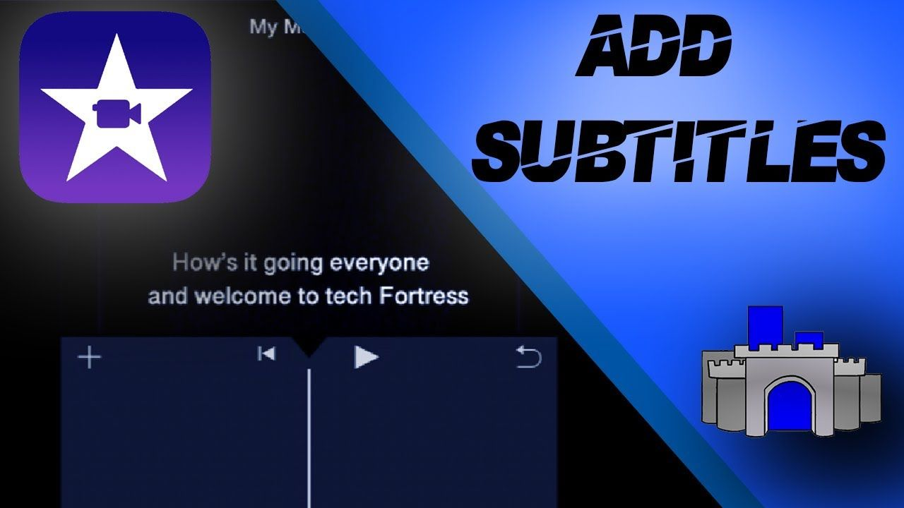 How To Add Subtitles In Imovie On Iphone 2020 Youtube Subtitled Ads Iphone