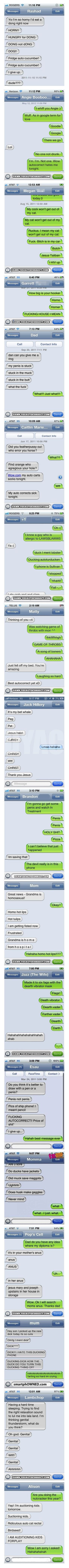 18 reasons not to own a smartphone. Best Autocorrect Struggles I laughed myself to…