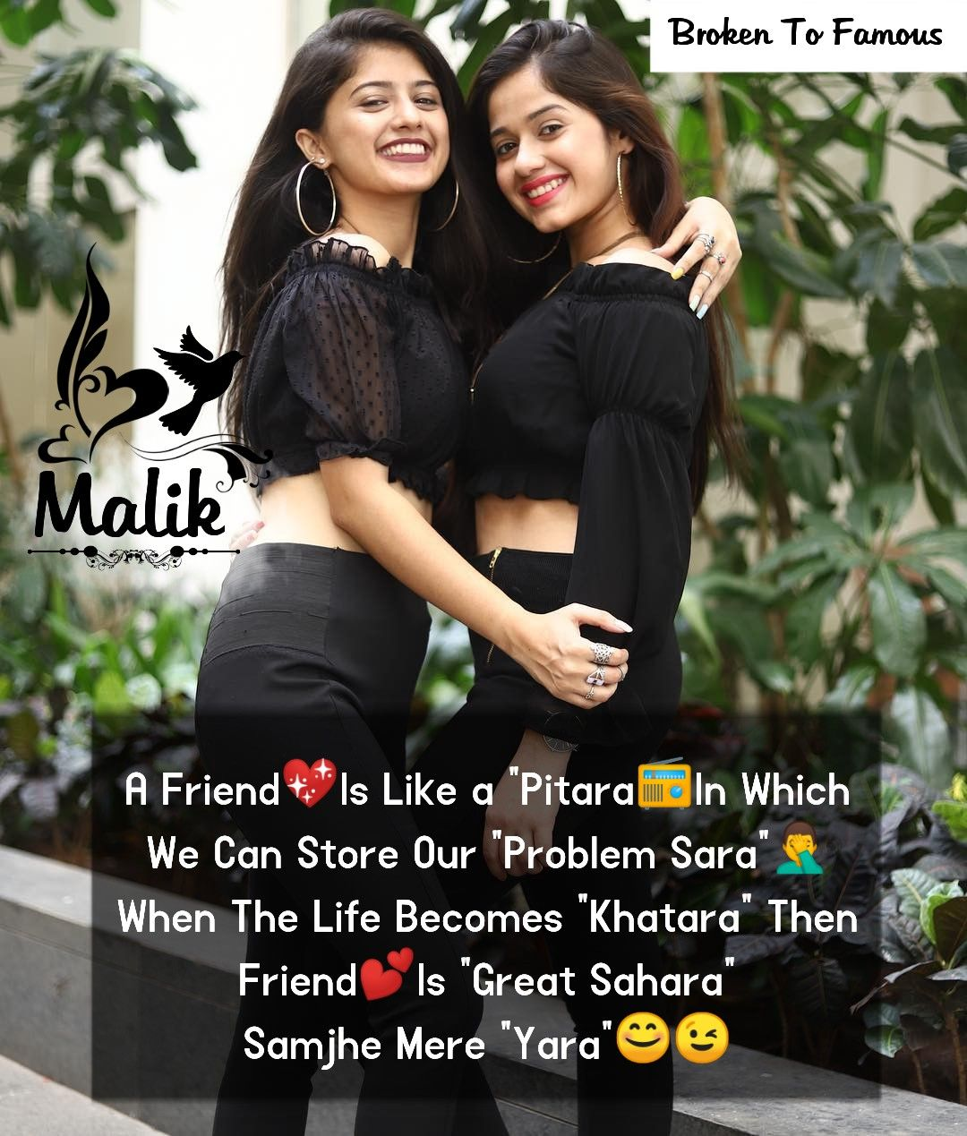 Malik Follow Comment Best Friends Forever Quotes Friends Quotes Funny Girl Quotes