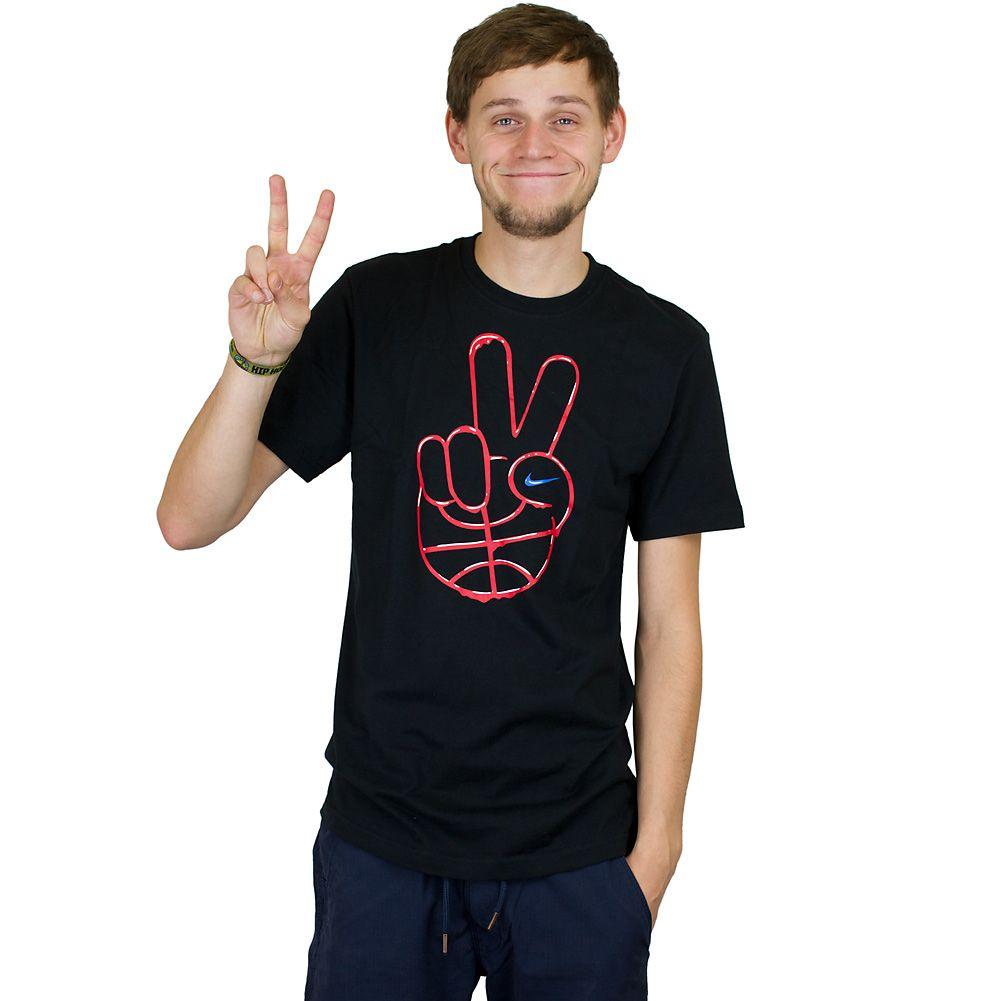 Nike Peace Ball T-Shirt schwarz ★★★★★