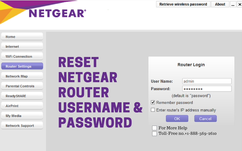 Reset Netgear Router Password and Username like a