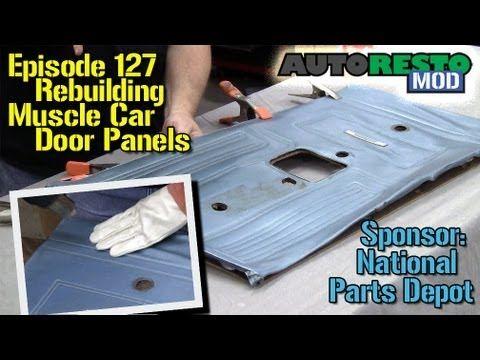Door Panel Part 2 Youtube Panel Doors Reupholster Car Seats Car Upholstery