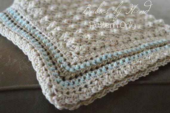 Baby Blanket Crochet Pattern Baby Afghan Pattern Babiesbyhand