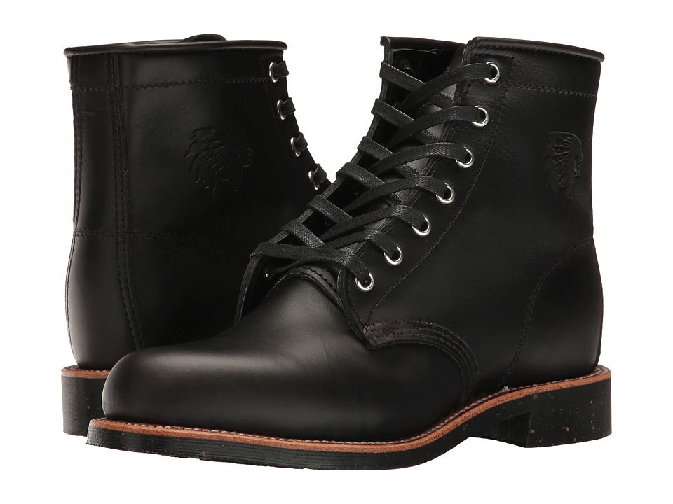 Chippewa 6 whirlwind service boot womens work boots black