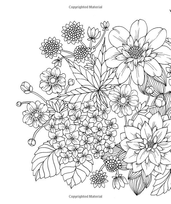 Twilight Garden Coloring Book Published in Sweden as quotBlomstermandalaquot Gsp Trade