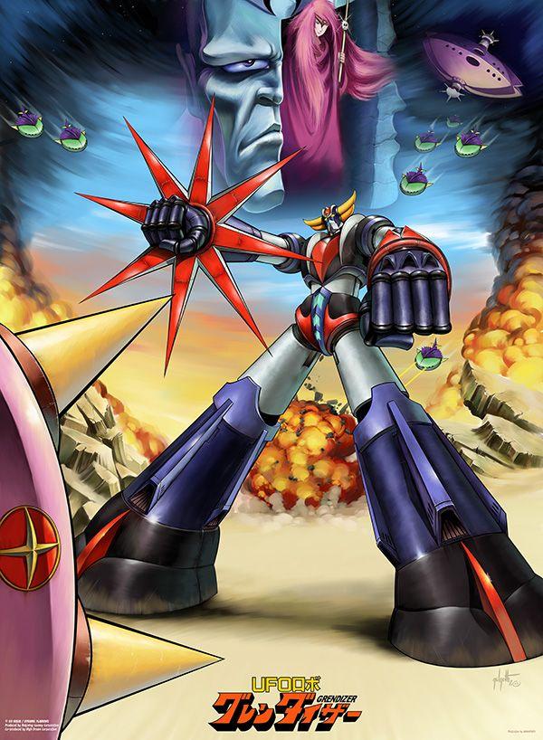 Posters Artwork Goldorak Albator Dessin Anime