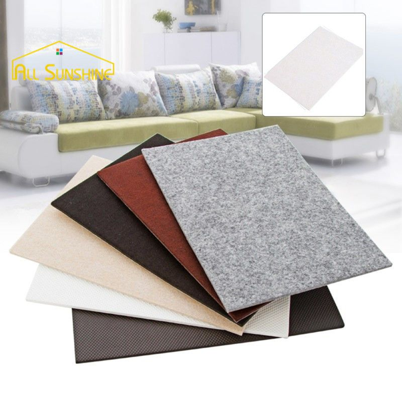 Beau 210x300mm Table Leg Pads Protectors Adhesive Furniture Feet Non Slip Rug  Felt Pads Anti Slip Mat #Affiliate